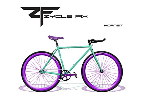 Zycle Fix ZF-HRNT-55 Hornet Fixed Gear Bike, 55cm/One Size F