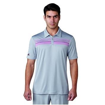 Adidas Climacool Chest Print Camiseta Polo de Manga Corta de Golf, Hombre: Amazon.es: Deportes y aire libre