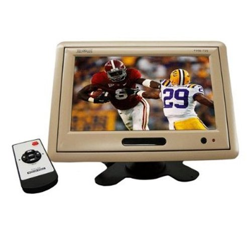 Absolute PHM709C 7-Inch TFT-LCD Monitor for Headrest, Visor, or Stand Alone Installation with Remote (Stand Alone Lcd Monitor)