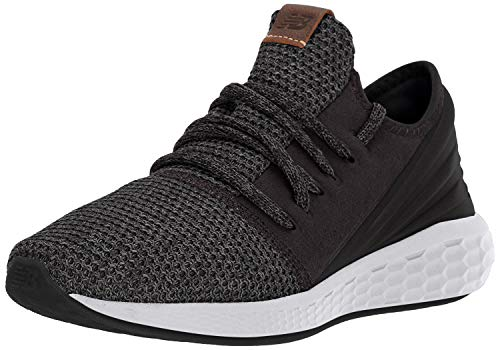 New Balance Men's Cruz V2 Fresh Foam Running Shoe, black/magnet/nimbus cloud, 11 D US