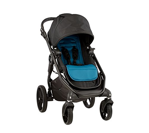 Baby Jogger City Premier Stroller, Teal/Black For Sale