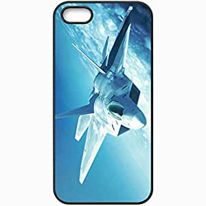 Personalized iPhone 5 5S Cell phone Case/Cover Skin Ace Combat Black