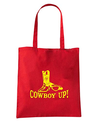 BOOTS UP Speed Rossa FUN1062 COWBOY Shopper WITH Borsa Shirt qPY78A