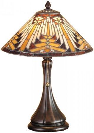 Meyda Tiffany 66225 Lighting, 18 Height, Bronze Dark
