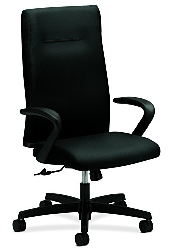 HON HIEH1.F.H.U.NT10.T.SB Ignition Center-Tilt Executive High-Back Chair, Black - Executive Center