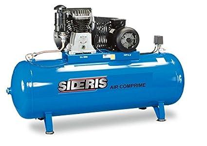 El compresor de aire de 500 litros 5,5CV 400 V