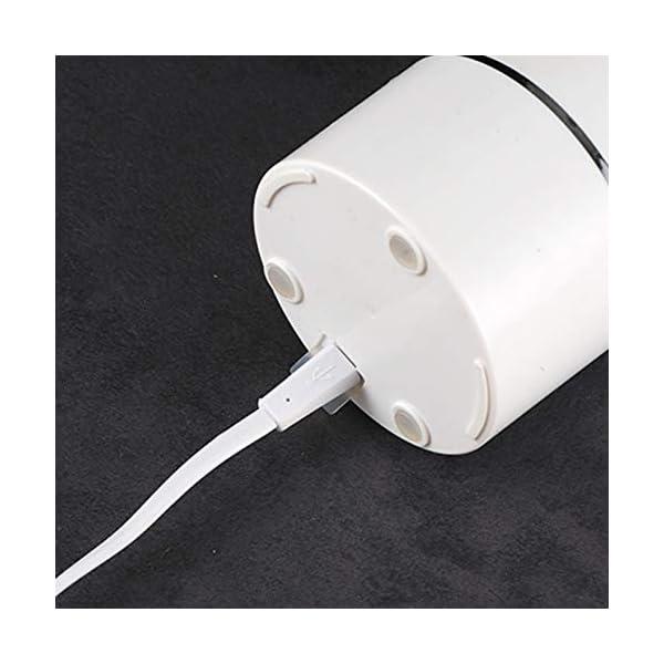 AMTSKR 400 ml portatile USB spremiagrumi elettrico macchina espulsore vetro mixer estrattore spirale verdura frutta… 6 spesavip