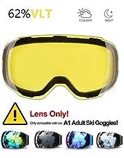 Skibrille, eDriveTech Ski Snowboard Brille Brillenträger