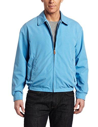 London Fog Men's Auburn Zip-Front Golf Jacket (Regular & Big-Tall Sizes), Ice Blue, XX-Large ()