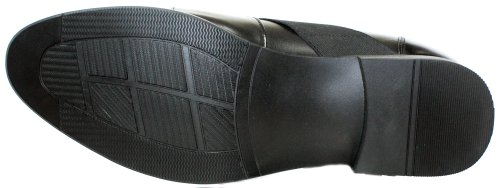 CALDEN K328011-3 Inches Taller - Height Increasing Elevator Shoes (Black Slip-on) Cheapest cheap price best wholesale cheap online JBqd3M