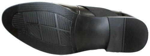 Calden K328011-3 Taller - Scarpe Con Rialzo Altezza Aumentata (slip-on Nero)