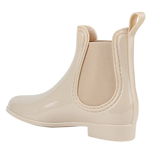 Japado - Botas de agua Mujer Beige - beige