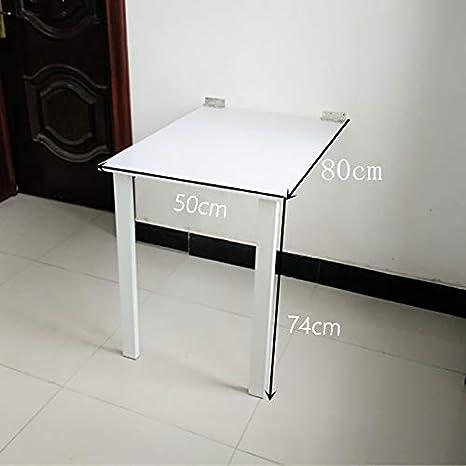 TXX Mesa plegable plegable de pared simple, mesa de comedor ...