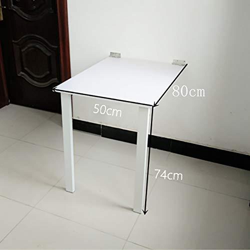 TXX Mesa plegable plegable de pared simple, mesa de comedor de ...