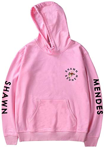 Oliphee Longues Capuches Manches Homme Sweat Mendes Shawn 4 Rose rYwqFr4