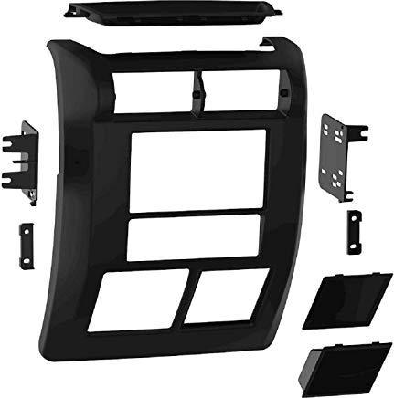 (Metra 1997-2002 Jeep Wrangler Car Radio Stereo Installation Double Din 2Din Dash Kit/Panel/Facia for SE Sport Sahara TJ JK 1997 1998 1999 2000 2001 2002 97 98 99 00 01)