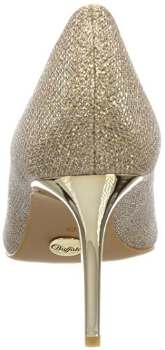 con P1855d 01 Donna 4 Buffalo Scarpe Glitter c002a Tacco Gold H733 Oro HwxZY