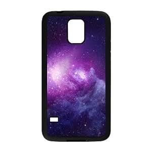 Galaxy Space Samsung Galaxy S5 Cell Phone Case Black Rljay