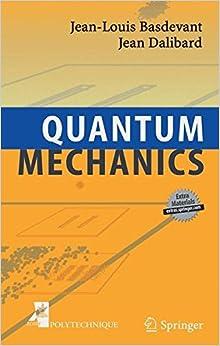 Book Quantum Mechanics