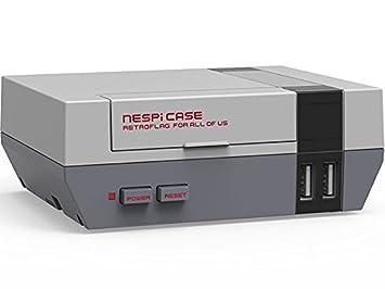 Mini Nes Retroflag Nespi Case Designed For Raspberry Pi 3 2and B