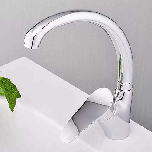 CHENBIN-BB 実用的な美しいクリエイティブ洗面台お座り盆地ミックスシングル温水と冷水の蛇口