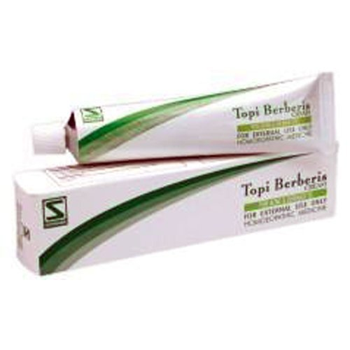 "3 LOT Schwabe Homeopathy Topi Berberis Cream - Antiseptic Healing Cream"" FAST DELIVERY GUARANTEED"""