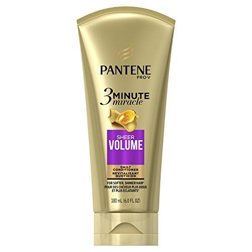 Pantene Sheer Volume 3 Minute Miracle Deep Conditioner