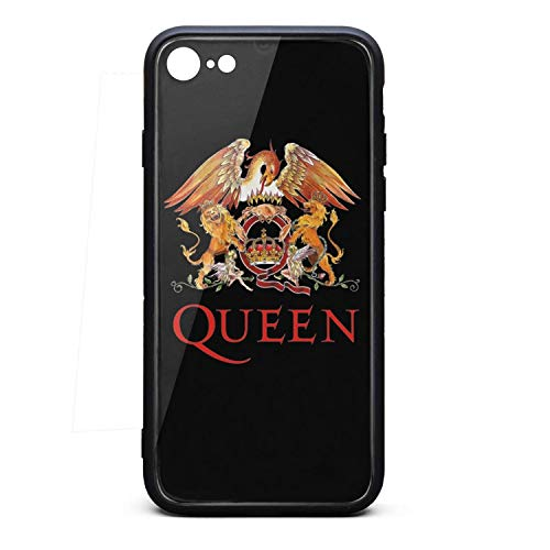 iPhone 7/ iPhone 8 Case Queen-Rock-Band-Logo- Slim Soft TPU Protective for iPhone 7/ iPhone 8 (Best Rock Band Logos)