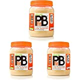 PBfit All-Natural Organic Peanut Butter Powder, 30 Ounce, Peanut Butter Powder from Real Roasted Pressed Peanuts, Good Source of Protein, Organic Ingredients (3 Pack (30 Ounce))