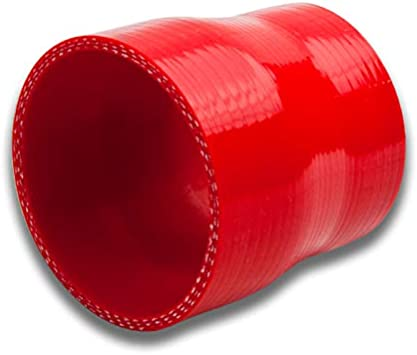 """3/"""" TO 3/"""" SILICONE HOSE REDUCER TURBO COUPLER RED 2"""