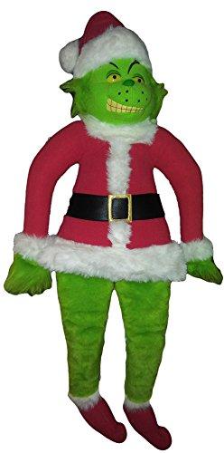 Grinch Costume Jim Carrey (Super Size Santa Grinch)