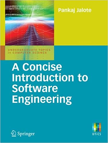 a concise introduction to software engineering undergraduate topics