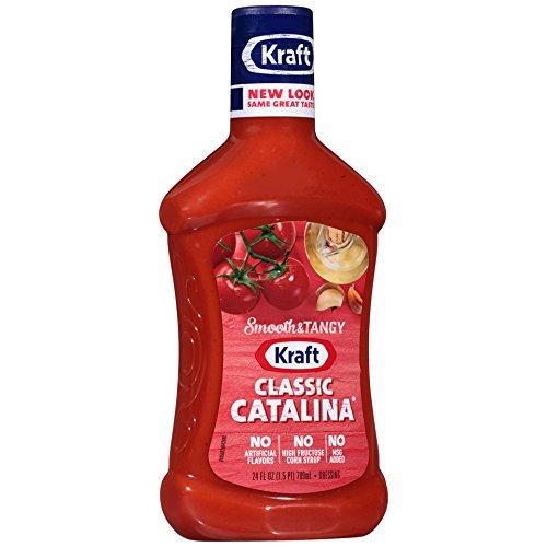 Kraft Classic Catalina Dressing & Dip, 24-Ounce Plastic Bottles (Pack of 3) (Kraft Catalina Dressing)