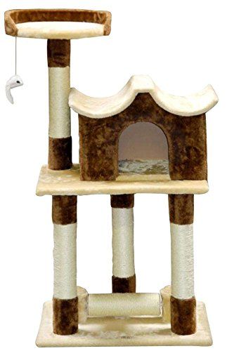 Go Pet Club F77 Cat Tree Furniture, 44-Inch