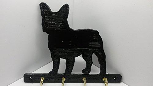 (ABS Plastic French Bulldog Dog Leash Rack Leash Holder Leash Hook Key Rack Key Holder Jewelry Holder Jewelry Rack Jewelry)
