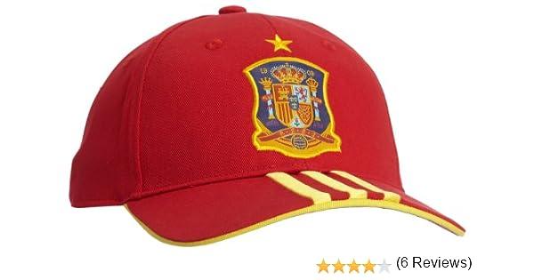 adidas Selección Española de Fútbol - Gorra Unisex, Color Rojo ...