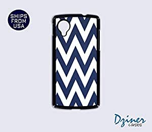 Nexus 5 Case - Blue Chevron iPhone Cover