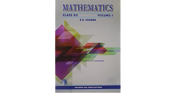 Mathematics class xii set of 2 volumes rd sharma mathematics class xii set of 2 volumes rd sharma 9789383182367 amazon books fandeluxe Images