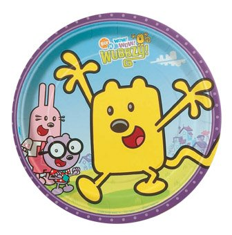 Wow! Wow! Wubbzy! Dinner Plates (8 count)]()