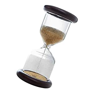 MagiDeal 3min Retro clásica de Madera Reloj de Arena Reloj de Arena Temporizador de café Sandglass Art Craft Home Office Decor Regalo