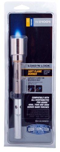 Worthington 309585 WB1001i Soft Flame Pro Grade Lock 'N Load Propane Torch Burner Tube from Worthington