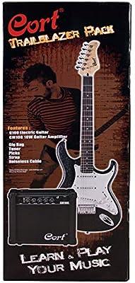 CORT Pack guitarra electrica CGP-100OPBC: Amazon.es: Instrumentos ...