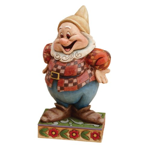 Enesco Disney Traditions Designed by Jim Shore Happy Figurine 4.5 in