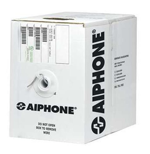 Aiphone 87180250C 18-AWG 2-Conductor Low Capacitance Solid Non-Shielded Wire, PE Insulation, 500 ()