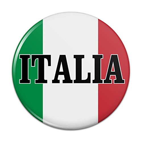 Metal Tuscany Mirror - Italia Italy Italian Flag Compact Pocket Purse Hand Cosmetic Makeup Mirror - 3