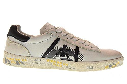 Woman Low D PREMIATA Shoes 2701 White Sneakers Andy Black BS66UqA4