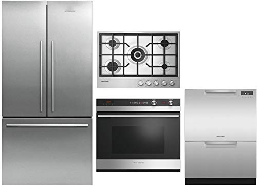 - Fisher Paykel 4 Piece Kitchen Package RF170ADX4N 32
