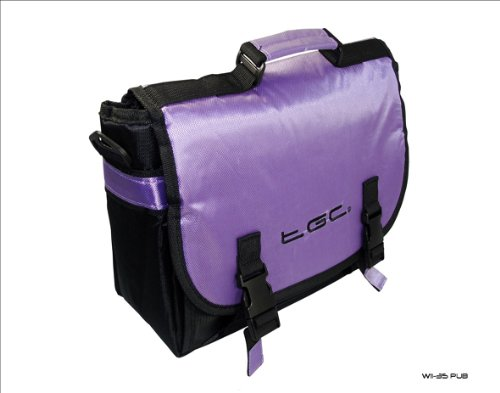 Tablet Case for amp; Blackberry Messenger Playbook Trim Style Bag New Black Purple YnHA8P