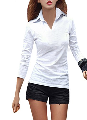 Womens Cotton Sleeve Casual Tshirt