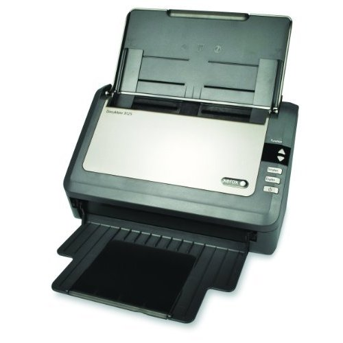 Visioneer Xerox XDM31255M-WU DocuMate 3125 - Document Scanner - Duplex - 8.5 in x 38 in - 600 dpi - up to 25 ppm (Mono) - ADF (50 Pages) - up to 3000 scans per Day - USB 2.0